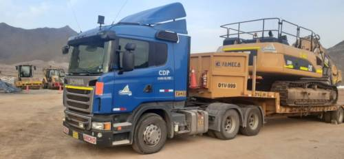 Camion Tracto Scania (TG-623)